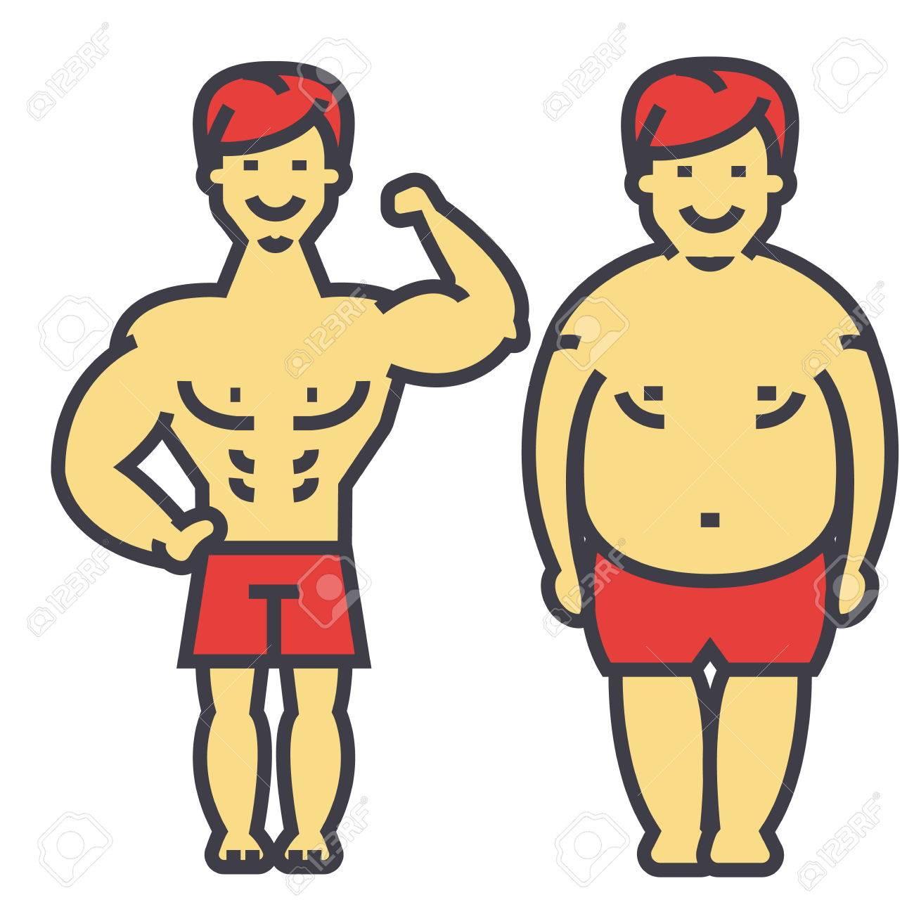 Abnehmen vor nach der Diät