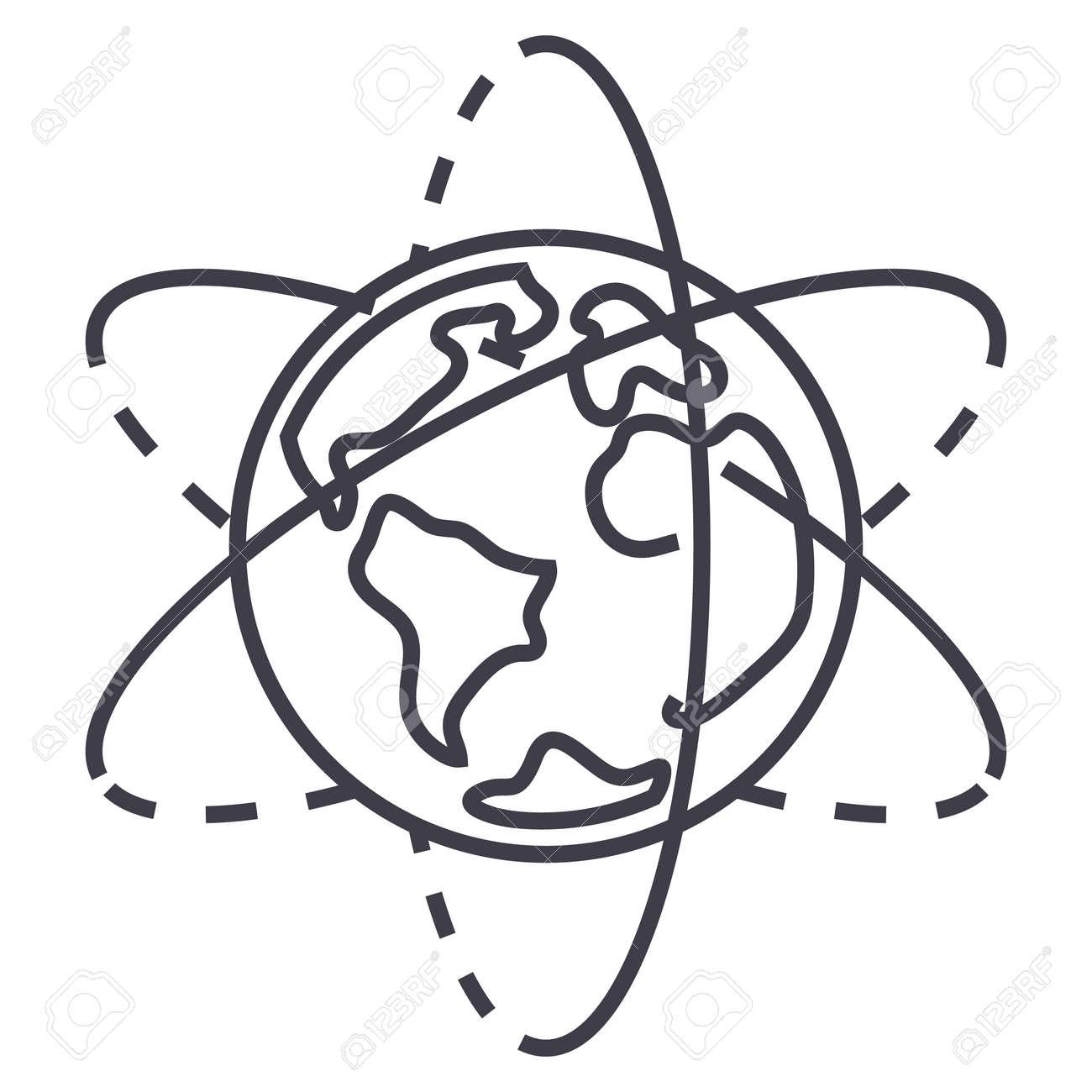 Ohr, Nase Und Hals, Ent Vektor-Linie-Symbol, Zeichen, Illustration ...
