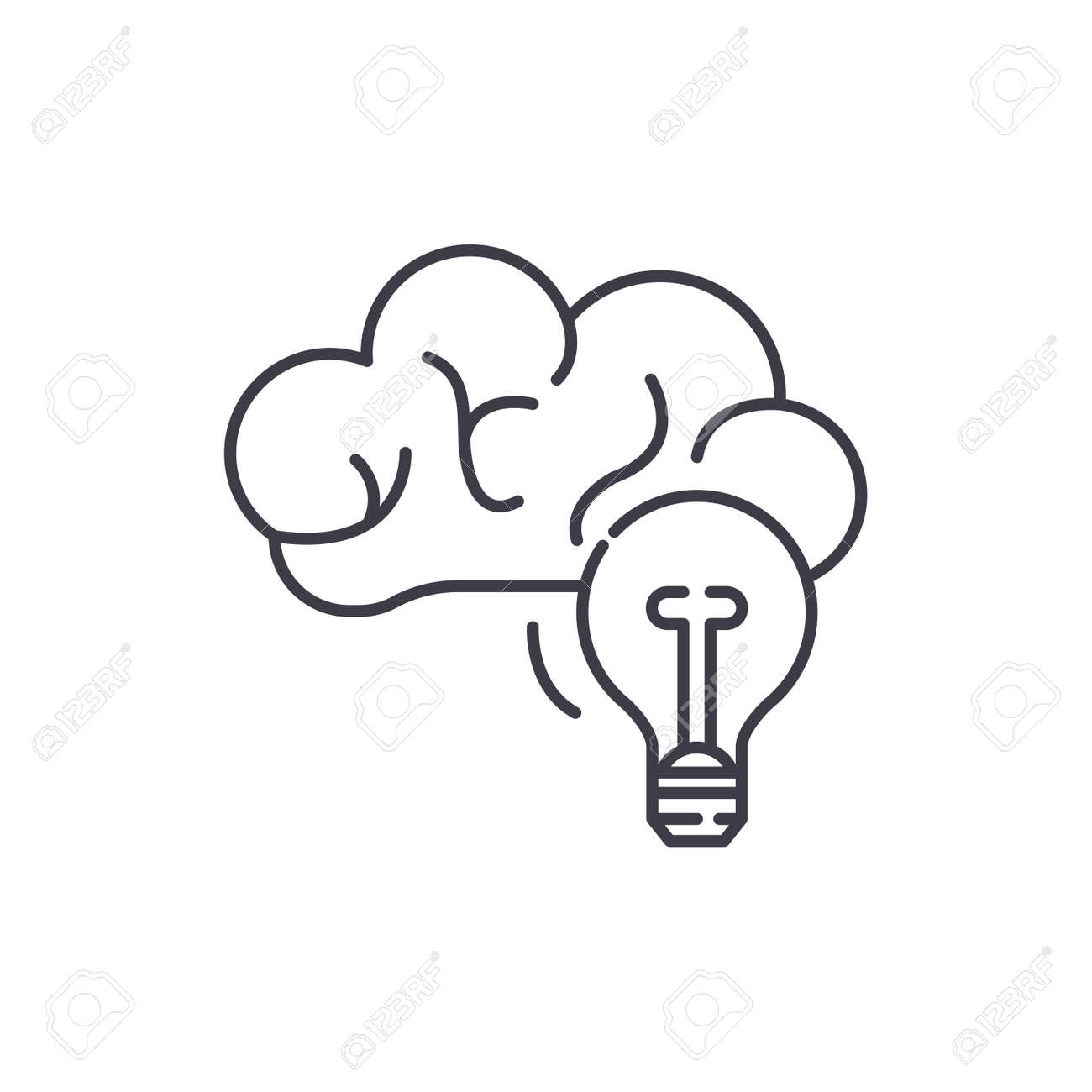Creative Thinking Clip Art