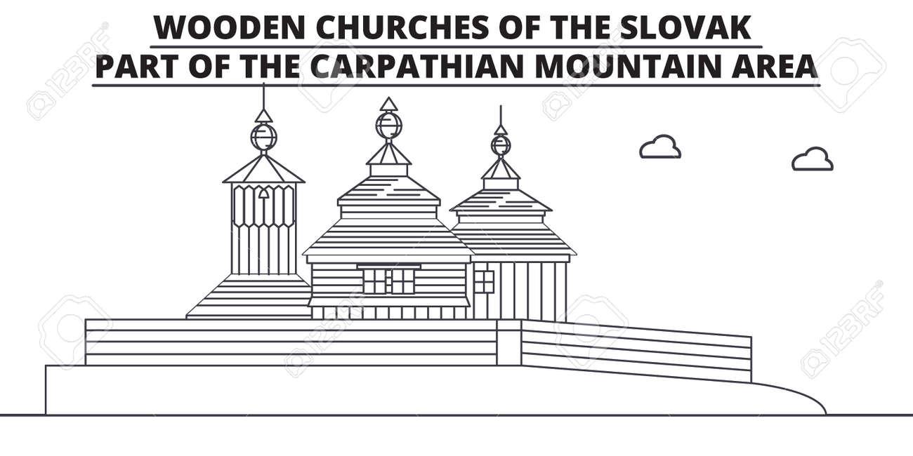 Slovakia Wooden Churches In The Carpathian Mountain Area Travel