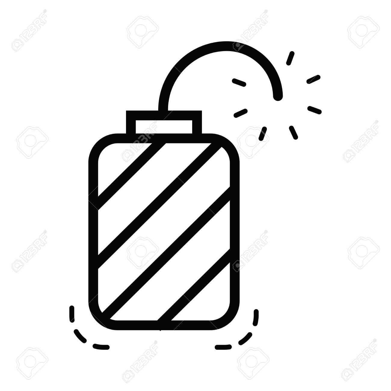 hand grenade icon line style royalty free cliparts vectors and rh 123rf com grenade vector icon