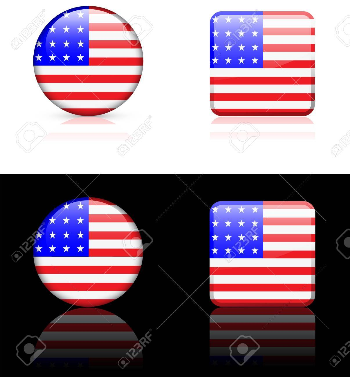 World flag series: United Sates of America Stock Vector - 5805875