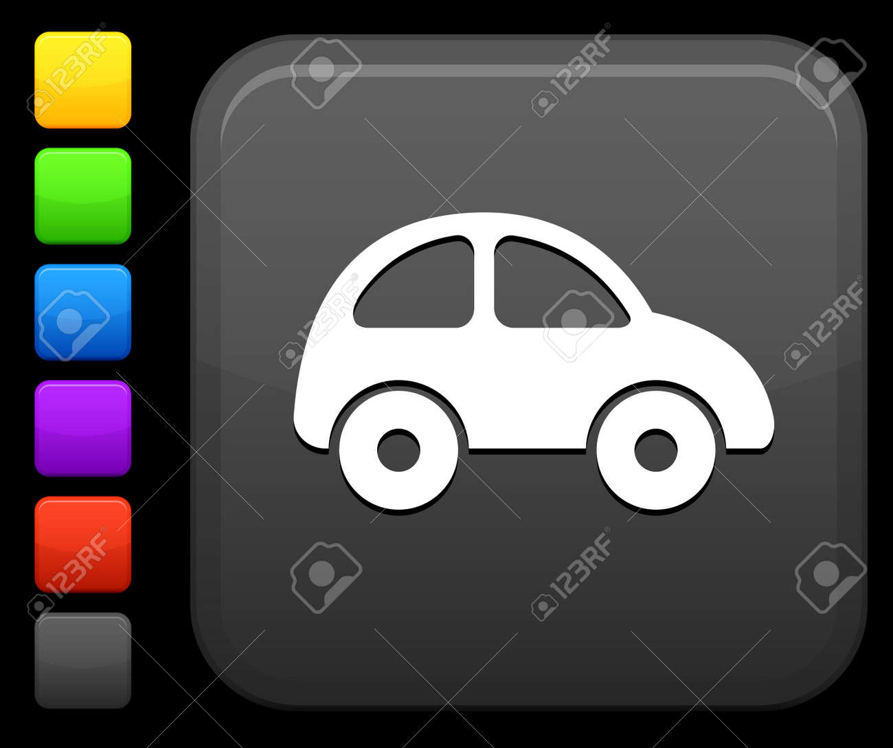 Original icon. Six color options included. Stock Photo - 6426115