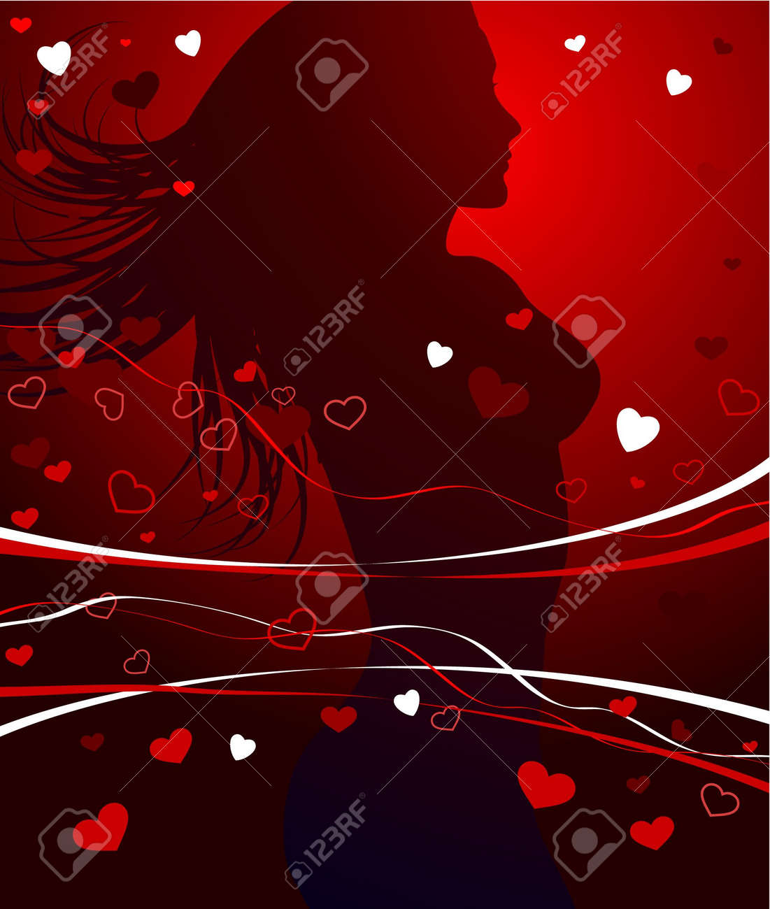 Sexy valentine graffics
