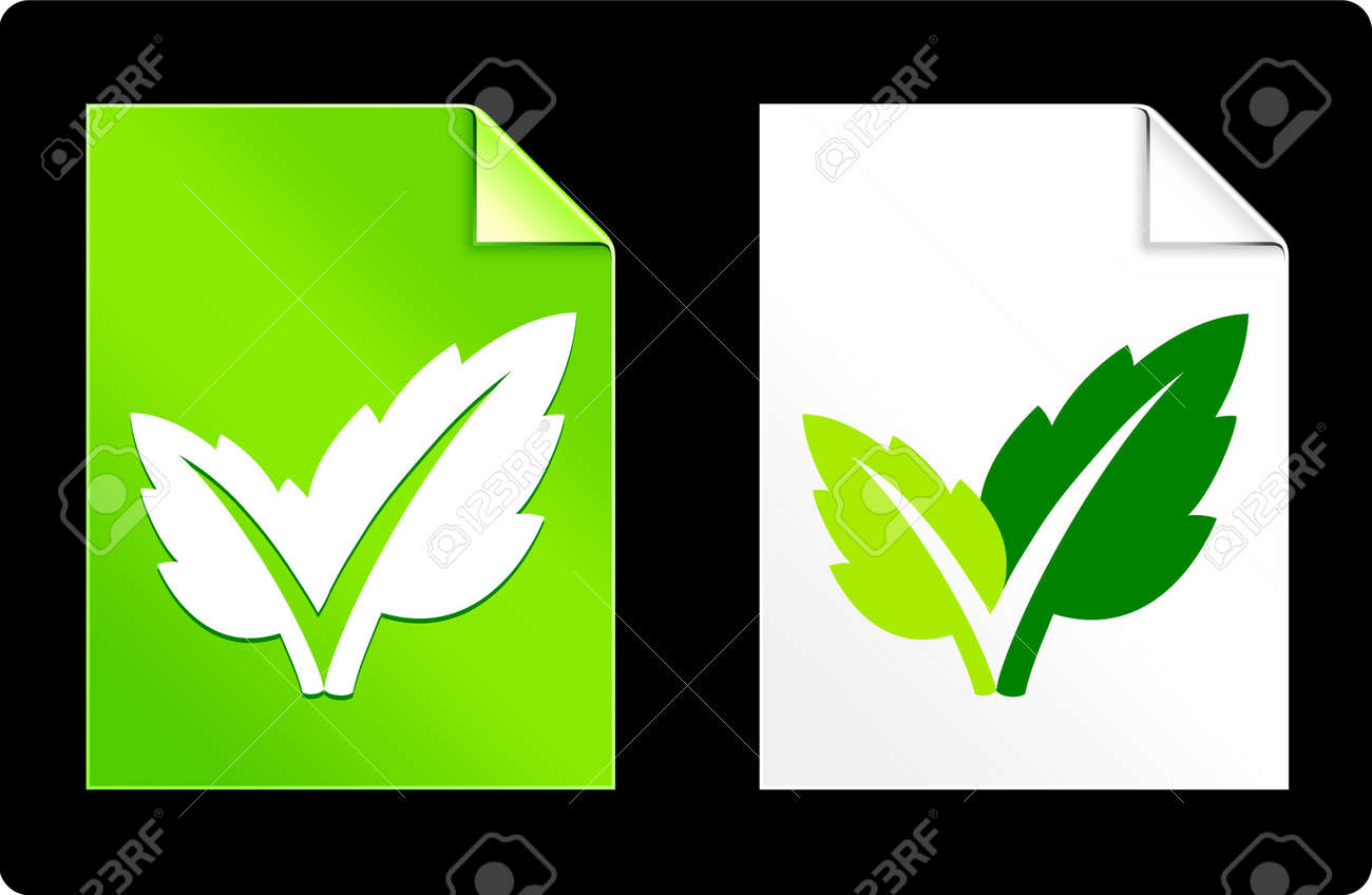 Leaf on Paper Set