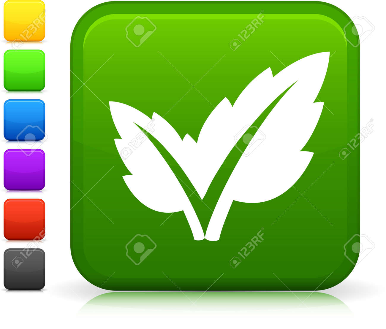 Original  icon. Six color options included. Stock Photo - 6602750