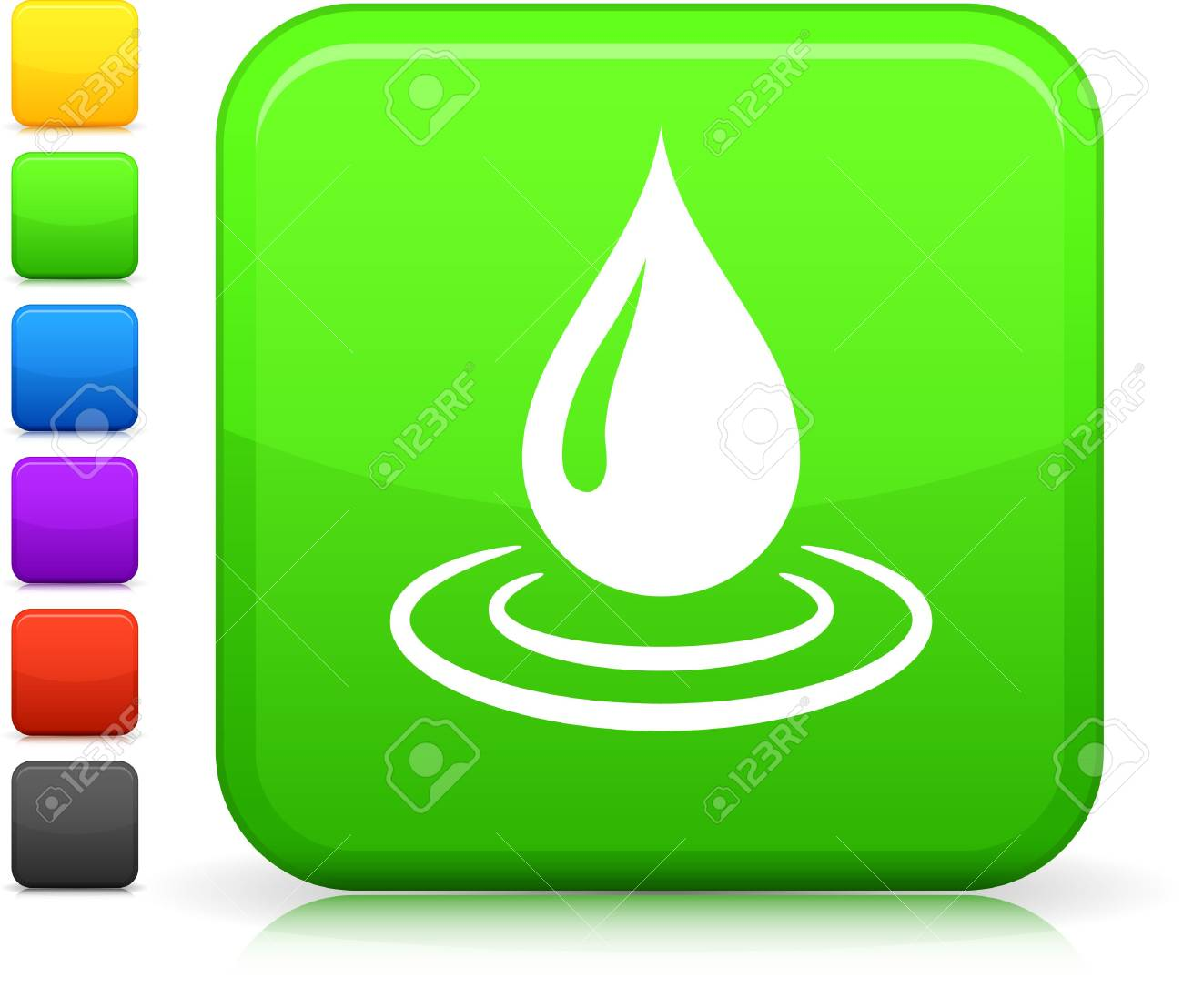 Original  icon. Six color options included. Stock Photo - 6602976