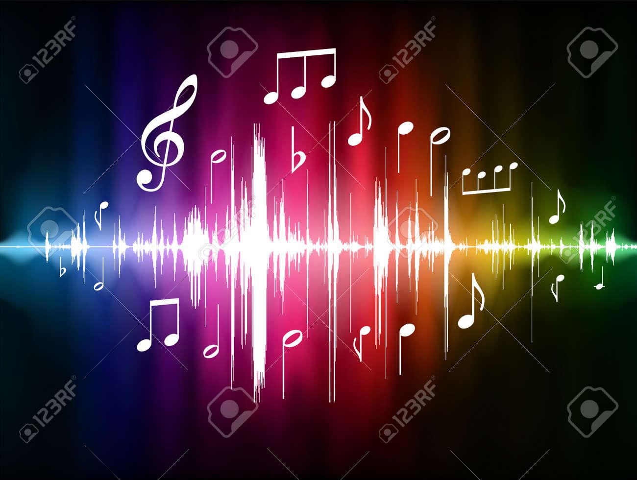 Connu Note De Musique Banque D'Images, Vecteurs Et Illustrations Libres  LC79
