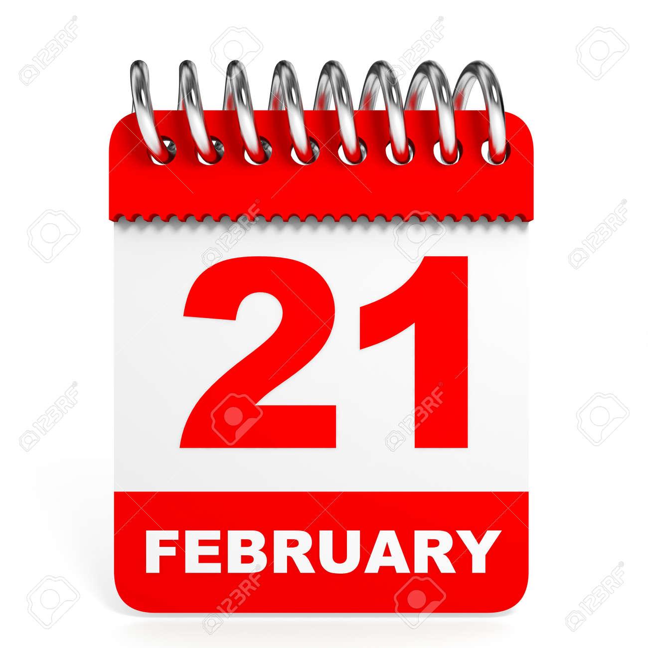 日 2 月 21