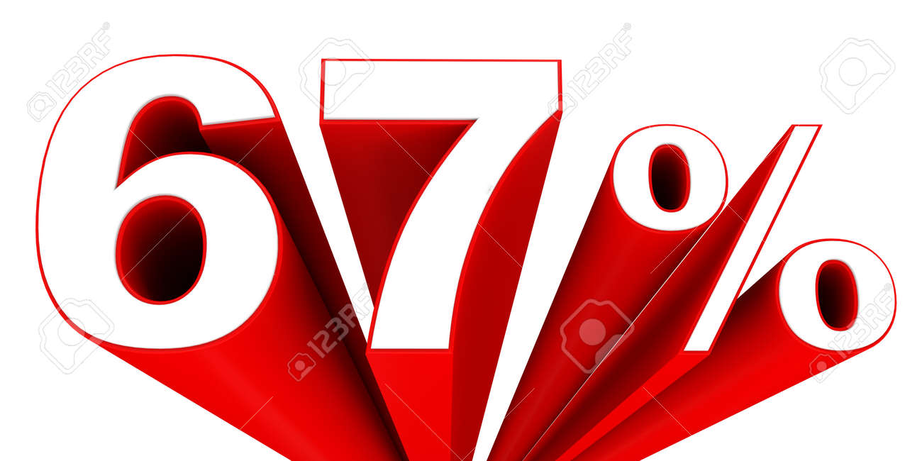 cea164dc153d Discount 67 percent off sale. 3D illustration. Stock Illustration - 51439578