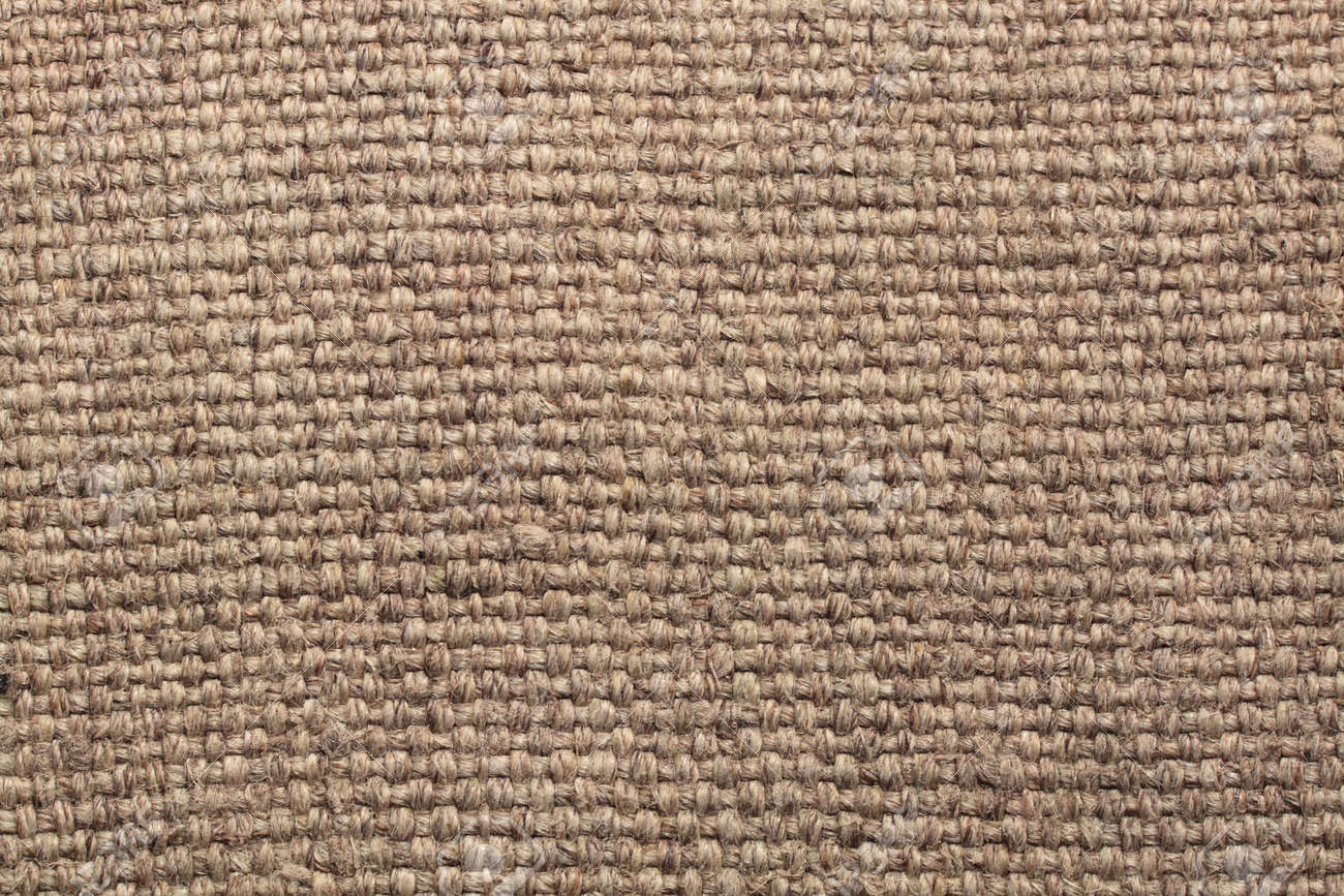 Fabric a sacking, a brown background, a close up Stock Photo - 22035450