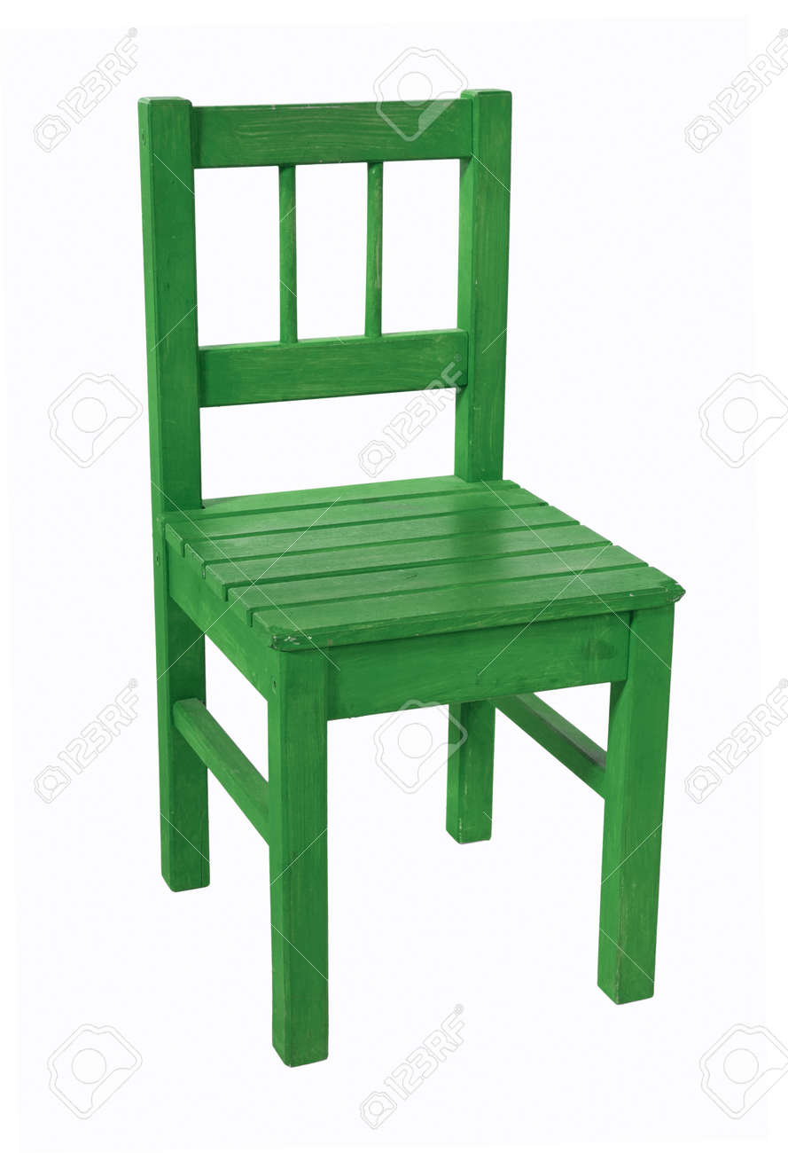 Strange Green Childrens Chair Isolated On A White Background Uwap Interior Chair Design Uwaporg