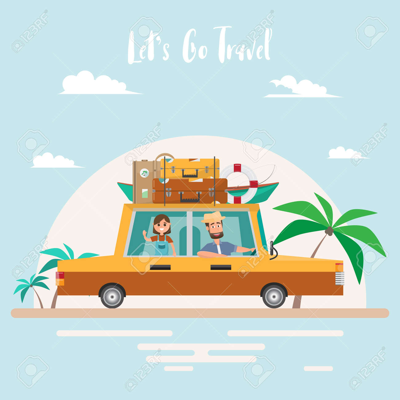 Summer Trip. Family Travel At ...