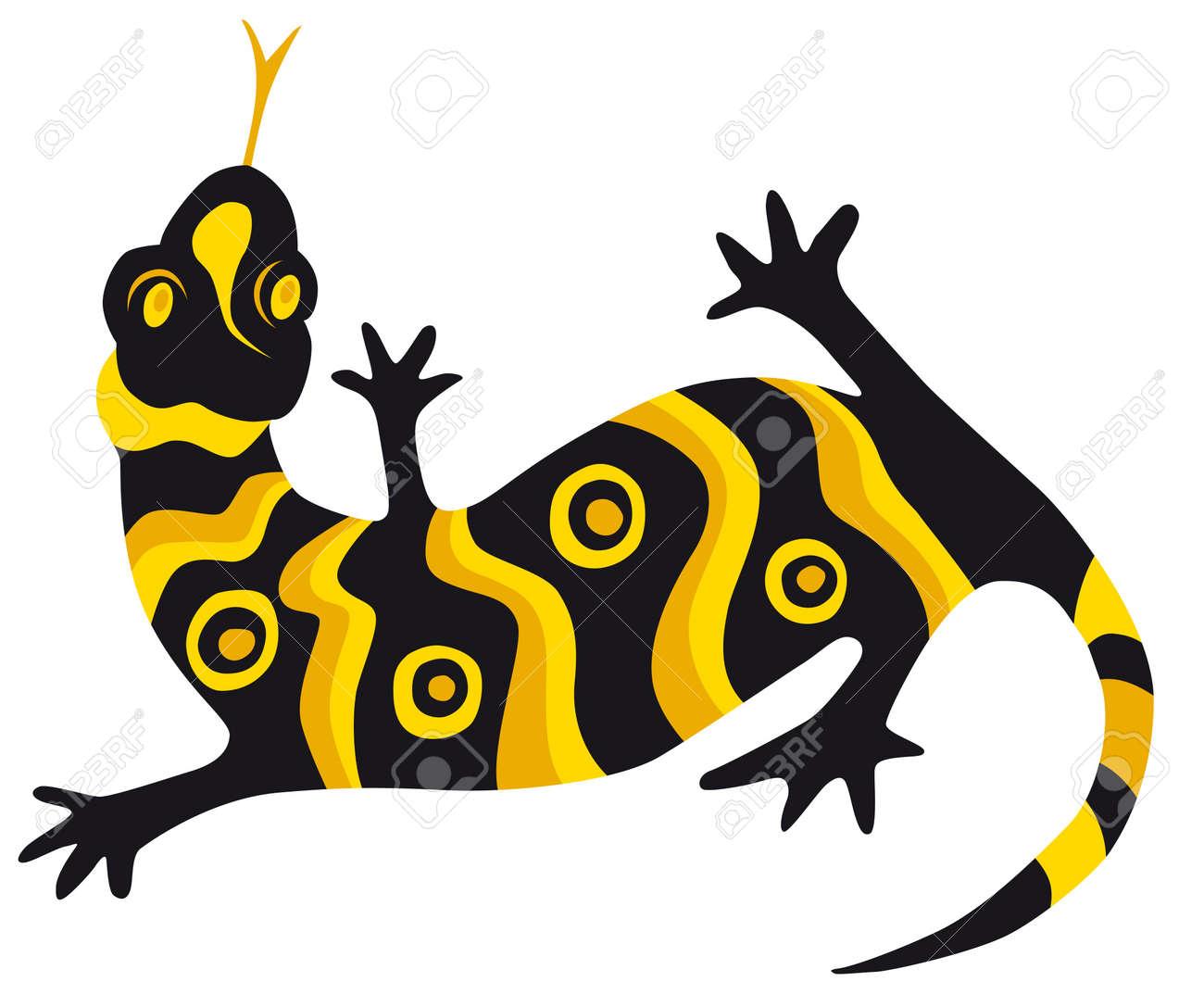 lizard Stock Vector - 7603382