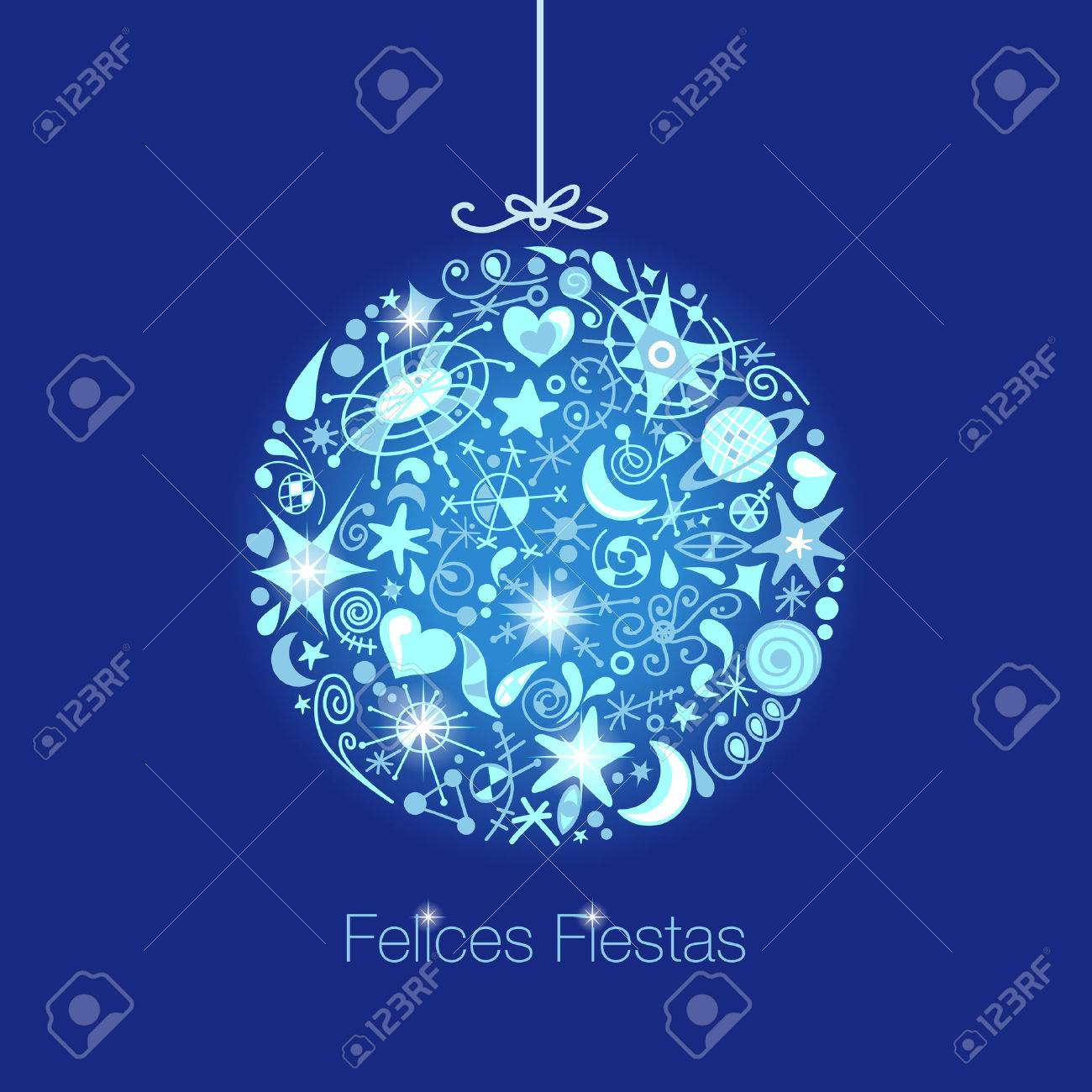 Spanish Christmas Card Royalty Free Cliparts, Vectors, And Stock ...