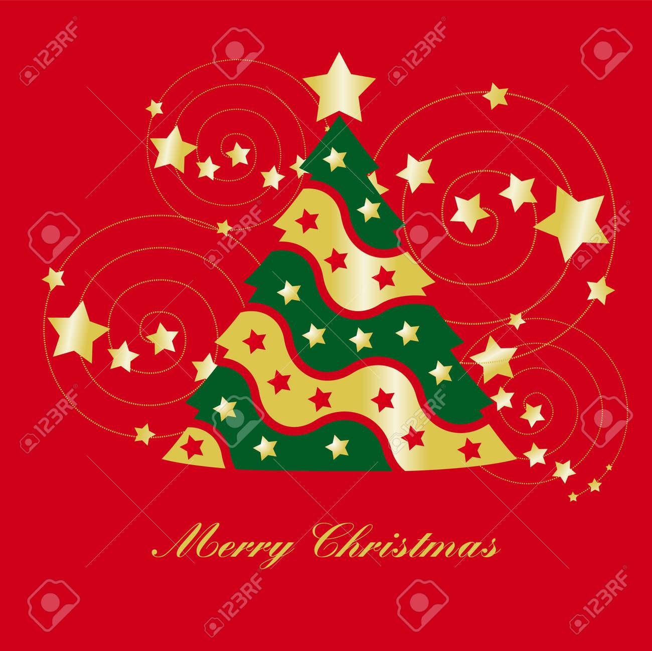 christmas tree Stock Vector - 8334822