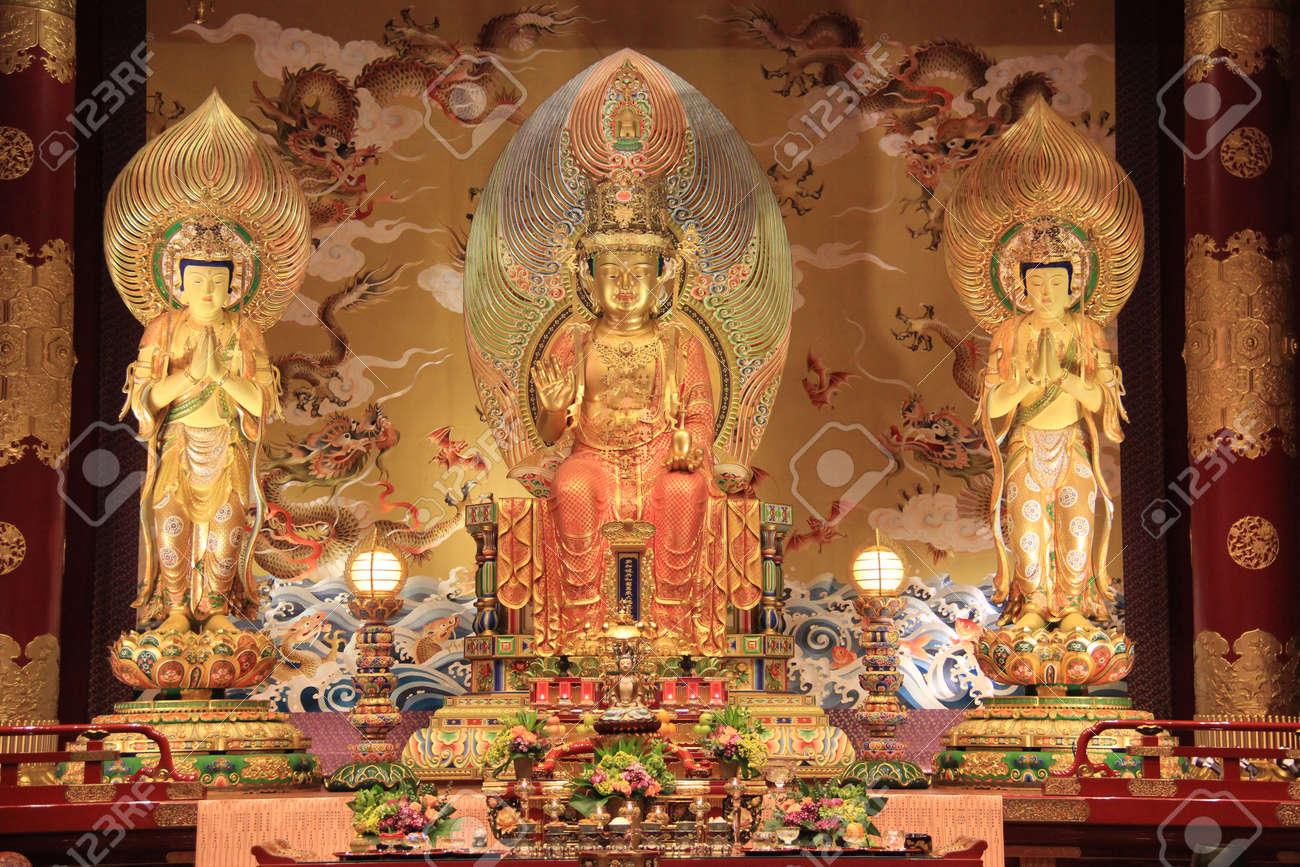 仏の歯の遺物の寺院や博物館、唐...
