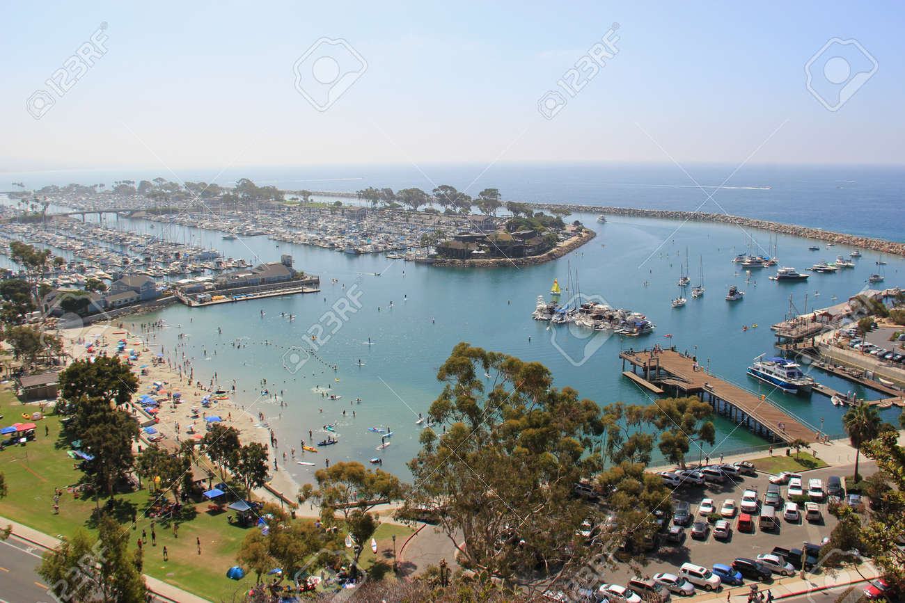 Dana Point Harbor Located In Southern California Is Home To