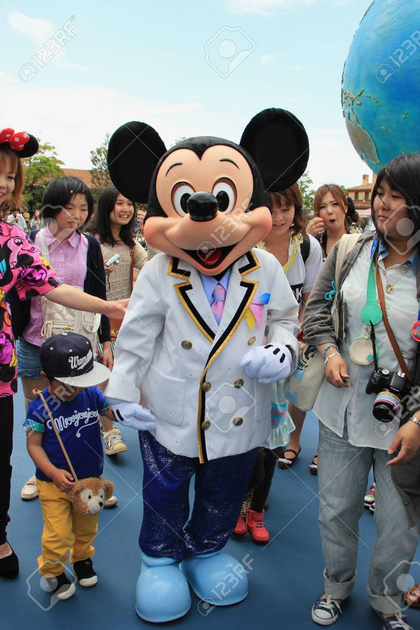 Tokyo japan may 29 2013 mickey mouse the official mascot tokyo japan may 29 2013 mickey mouse the official mascot of biocorpaavc Choice Image