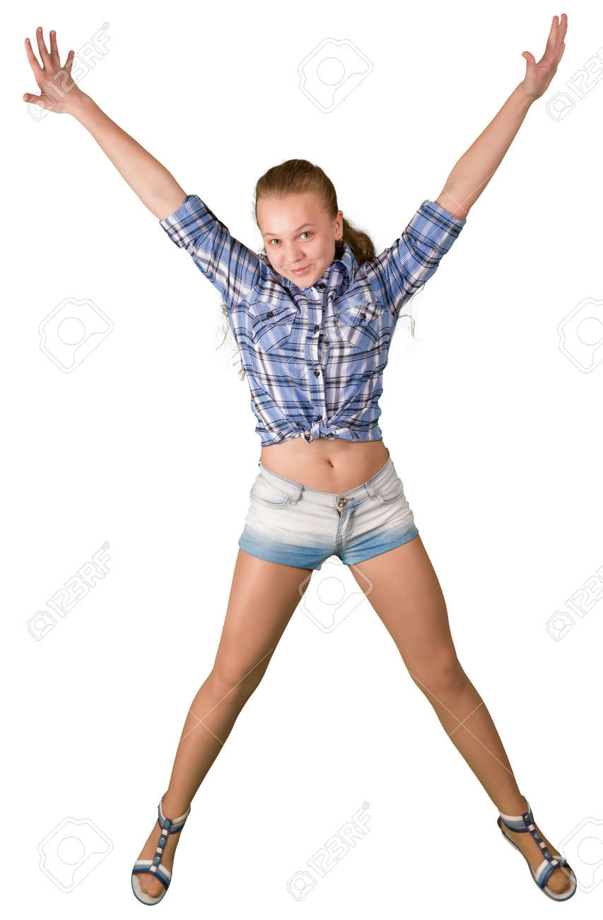 Flexible nude teen pussy