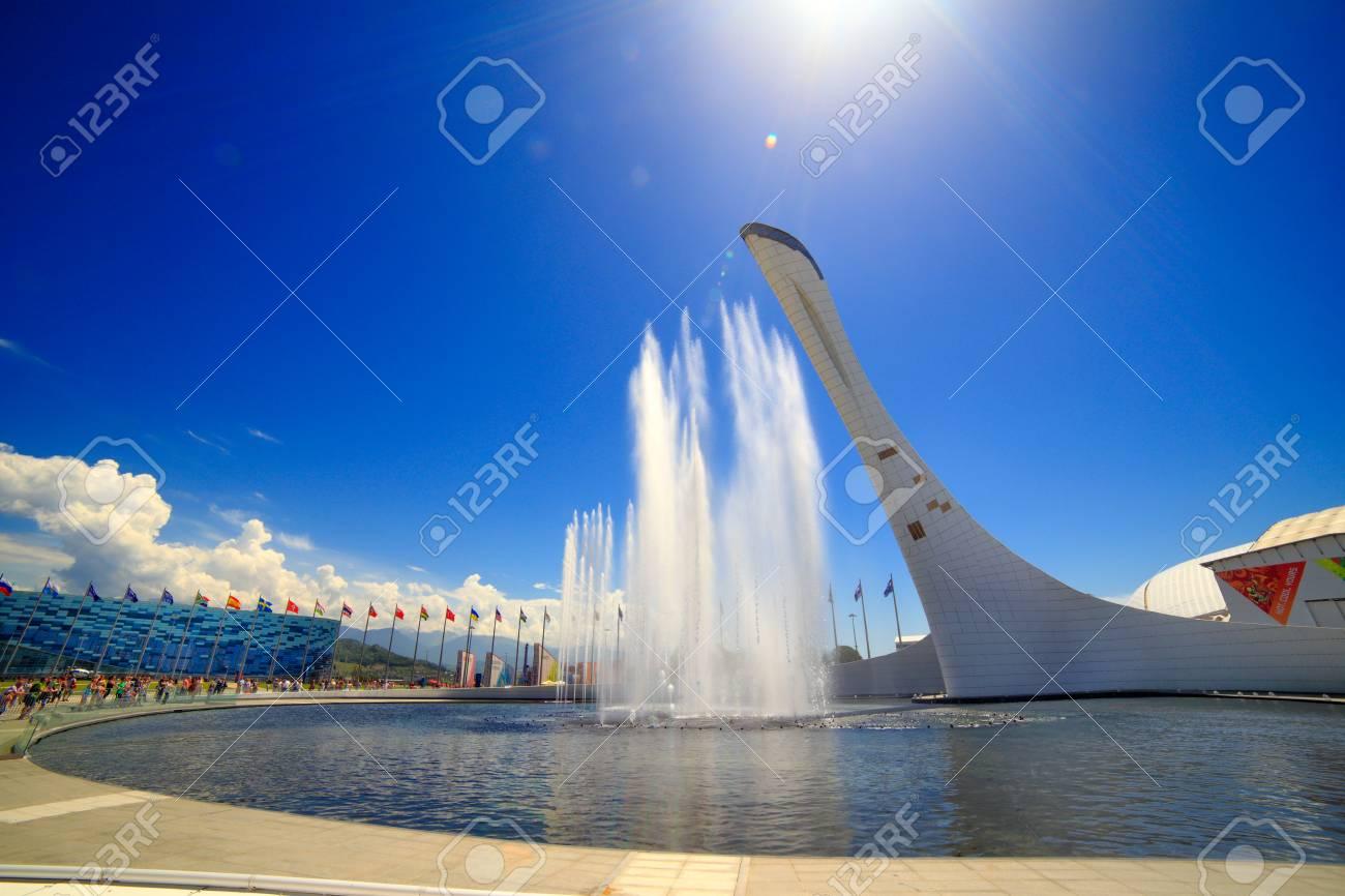 Sochi Adler Rusia 27 De Mayo 2015 Parque Olimpico De Sochi