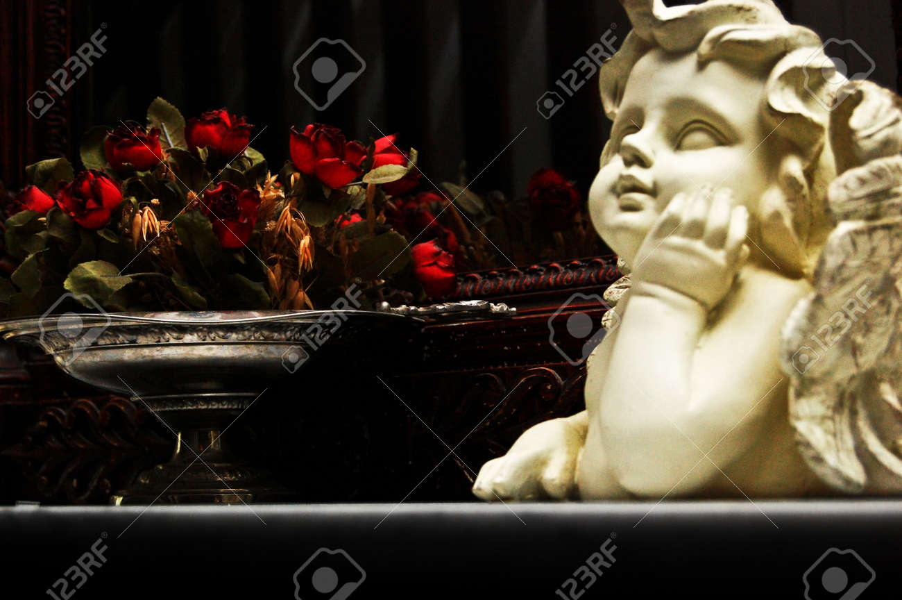 Angel roses Stock Photo - 4248266