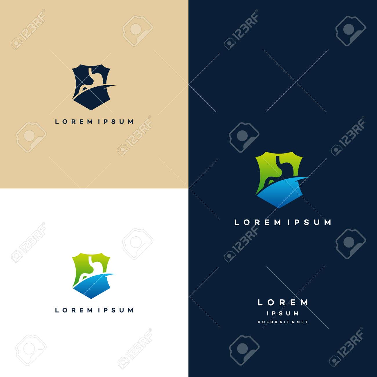 Stomach Logo designs, Colorful Stomach logo designs concept vector - 168021132