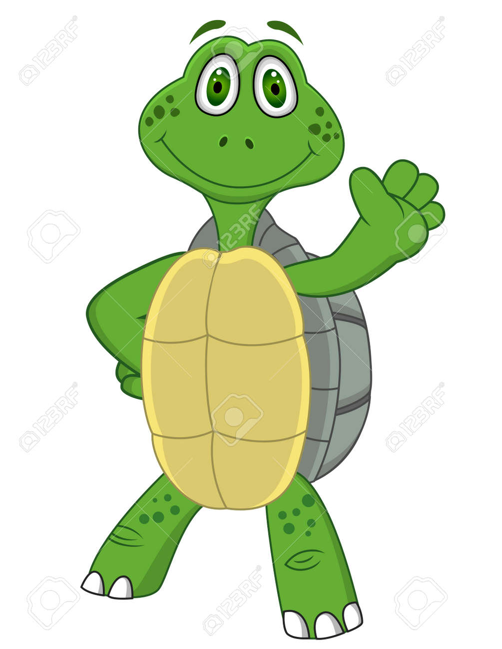 Turtle with thumb up Stock Vector - 13446427