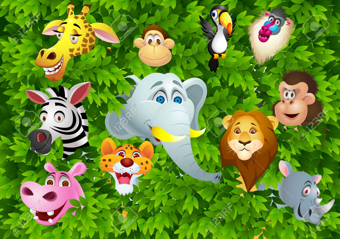 Animal cartoon Stock Vector - 13497235