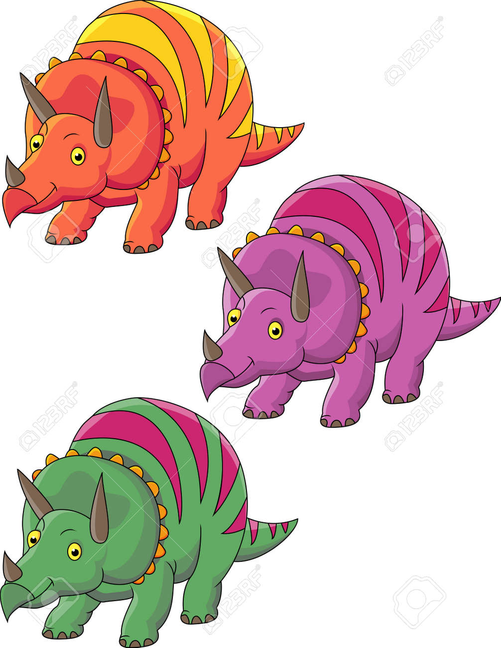Dinosaur cartoon Stock Vector - 13495586