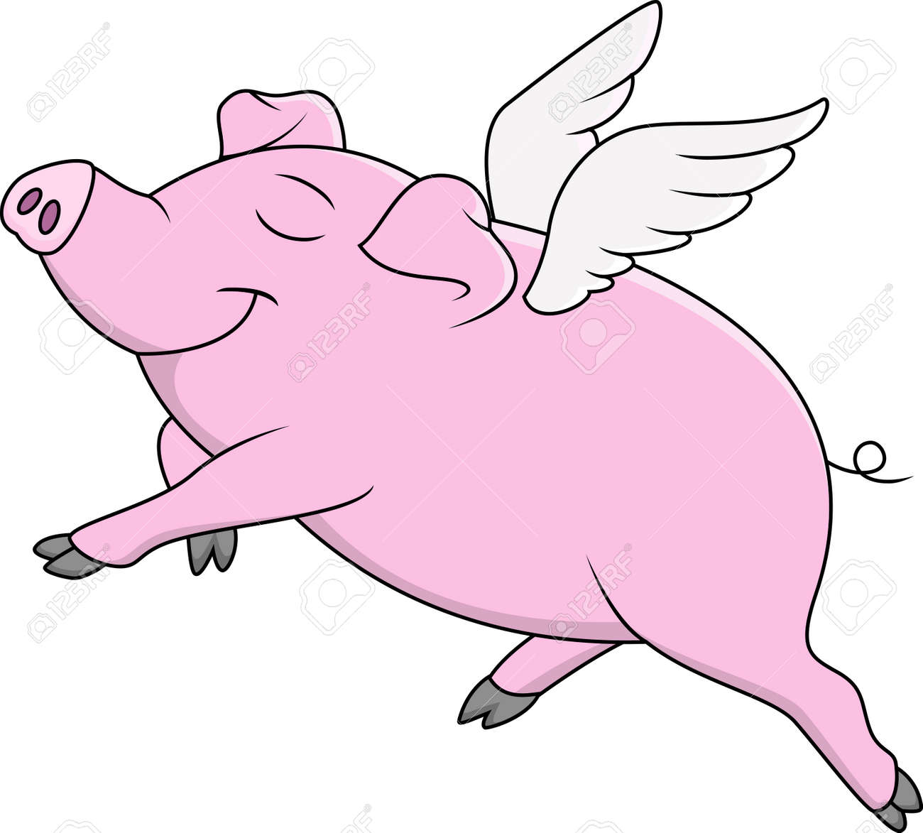 Flying Pig Stock Photos. Royalty Free Flying Pig Images And Pictures