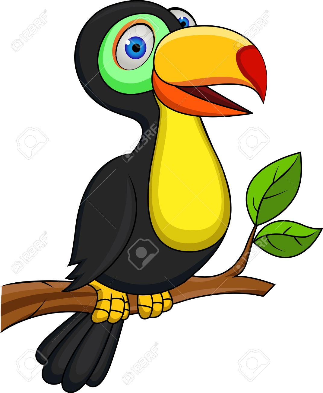 Toucan bird Stock Vector - 13779390