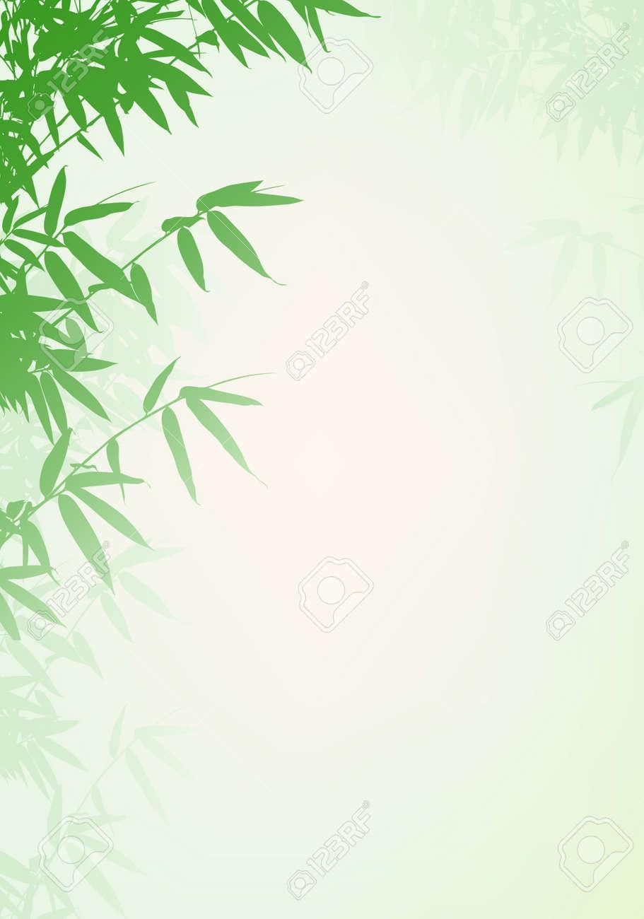 Bamboo tree background Stock Vector - 13984450