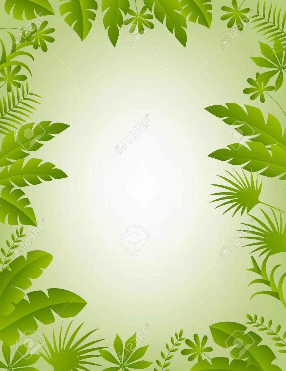 illustration of Floral frame background - 14325315