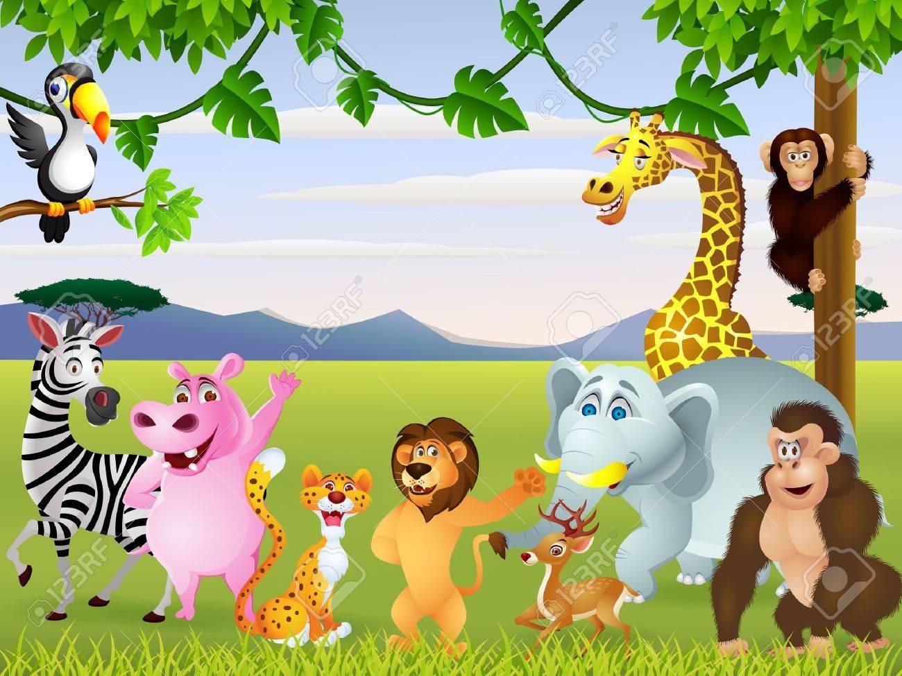 Animal cartoon - 14662193
