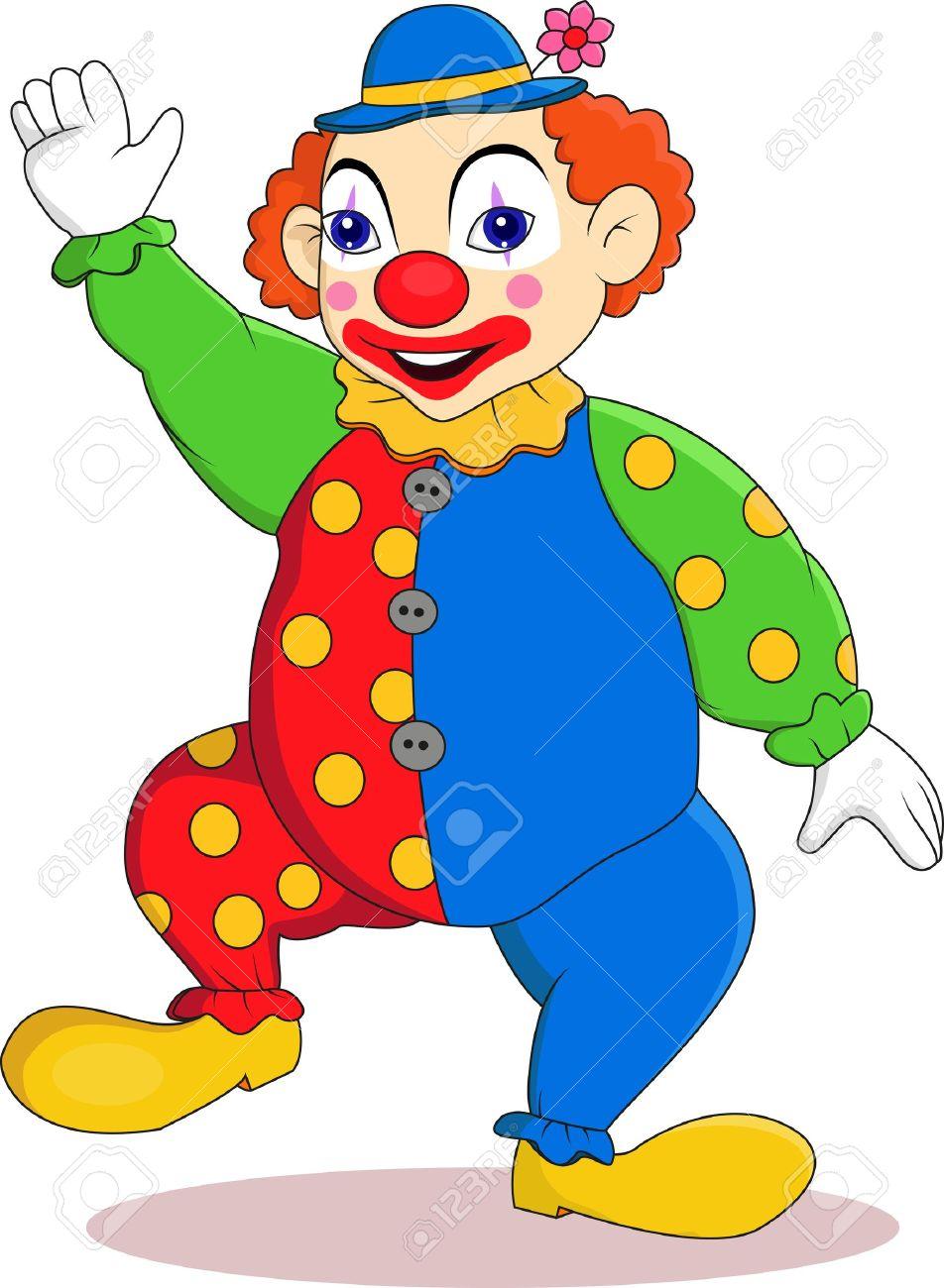 Funny clown cartoon - 14662172