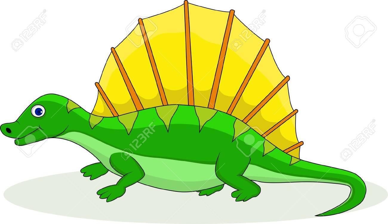 Dinosaur cartoon Stock Vector - 15234354