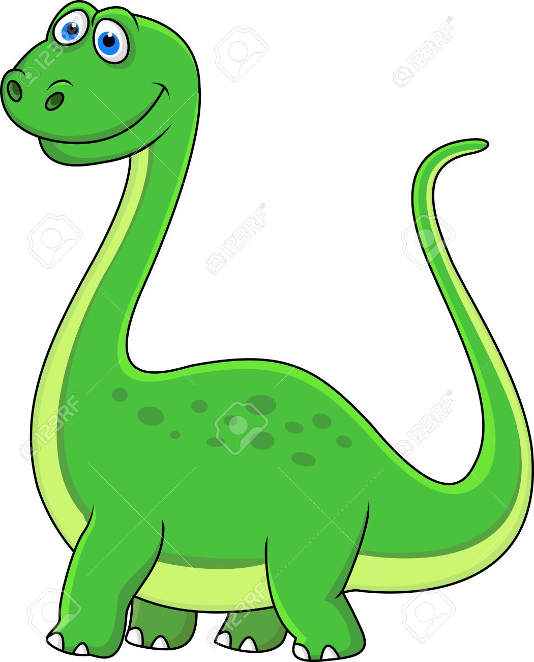 Dinosaur cartoon Stock Vector - 15234277