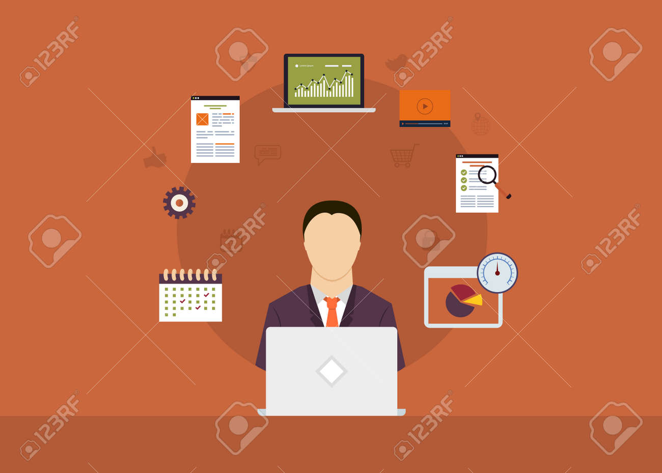 Concept Of Consulting Services Project Management Time  Concept Of Consulting Services Project Management Time Management Marketing Research Strategic Plann Stock Vector Photo  Concept Of Consulting Services Project Management Time Management Marketing Research Strategic Plann