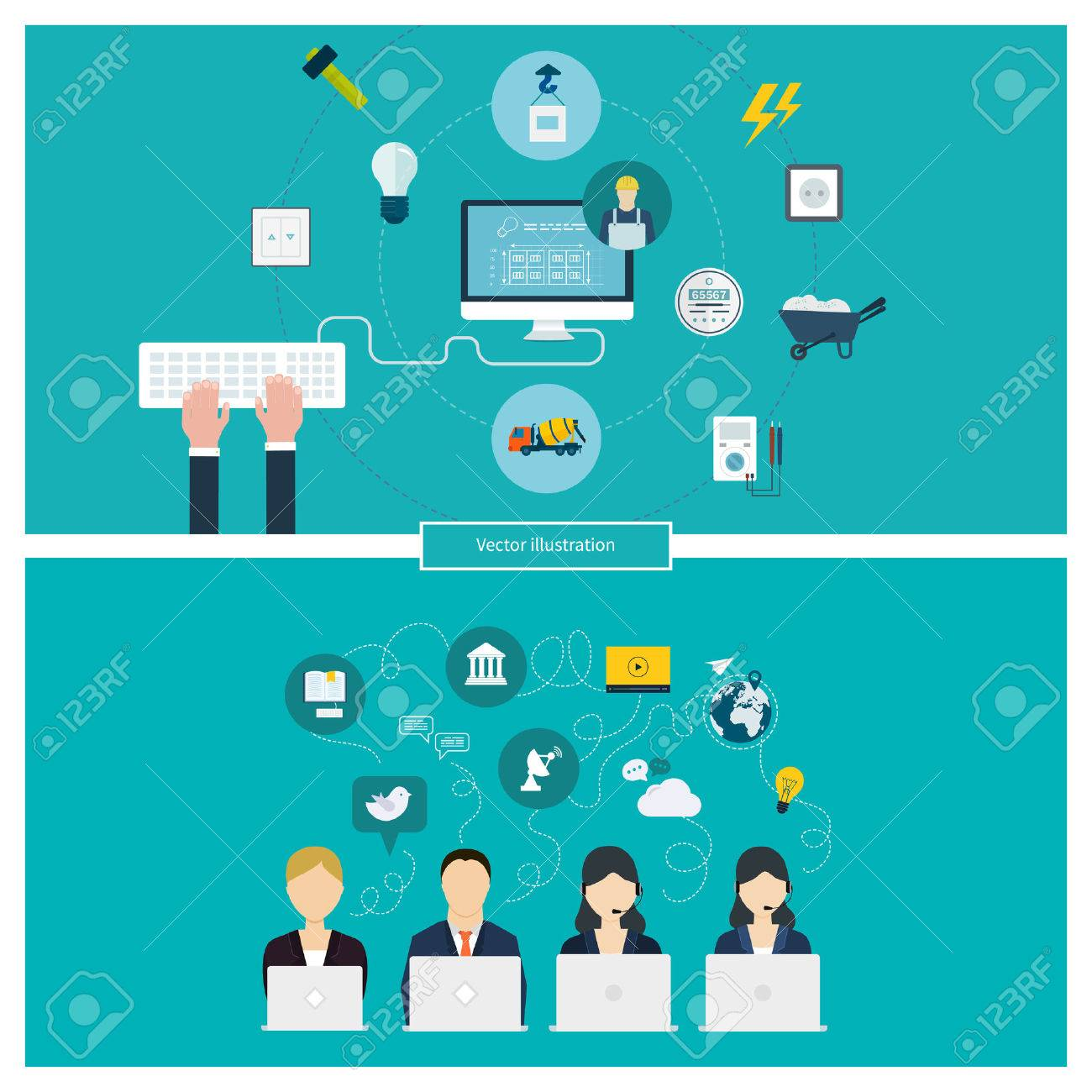 Concept Of Social Media Network Project Management Time  Concept Of Social Media Network Project Management Time Management Marketing Research Strategic Plan Stock Vector Photo  Concept Of Social Media Network Project Management Time Management Marketing Research Strategic Plan