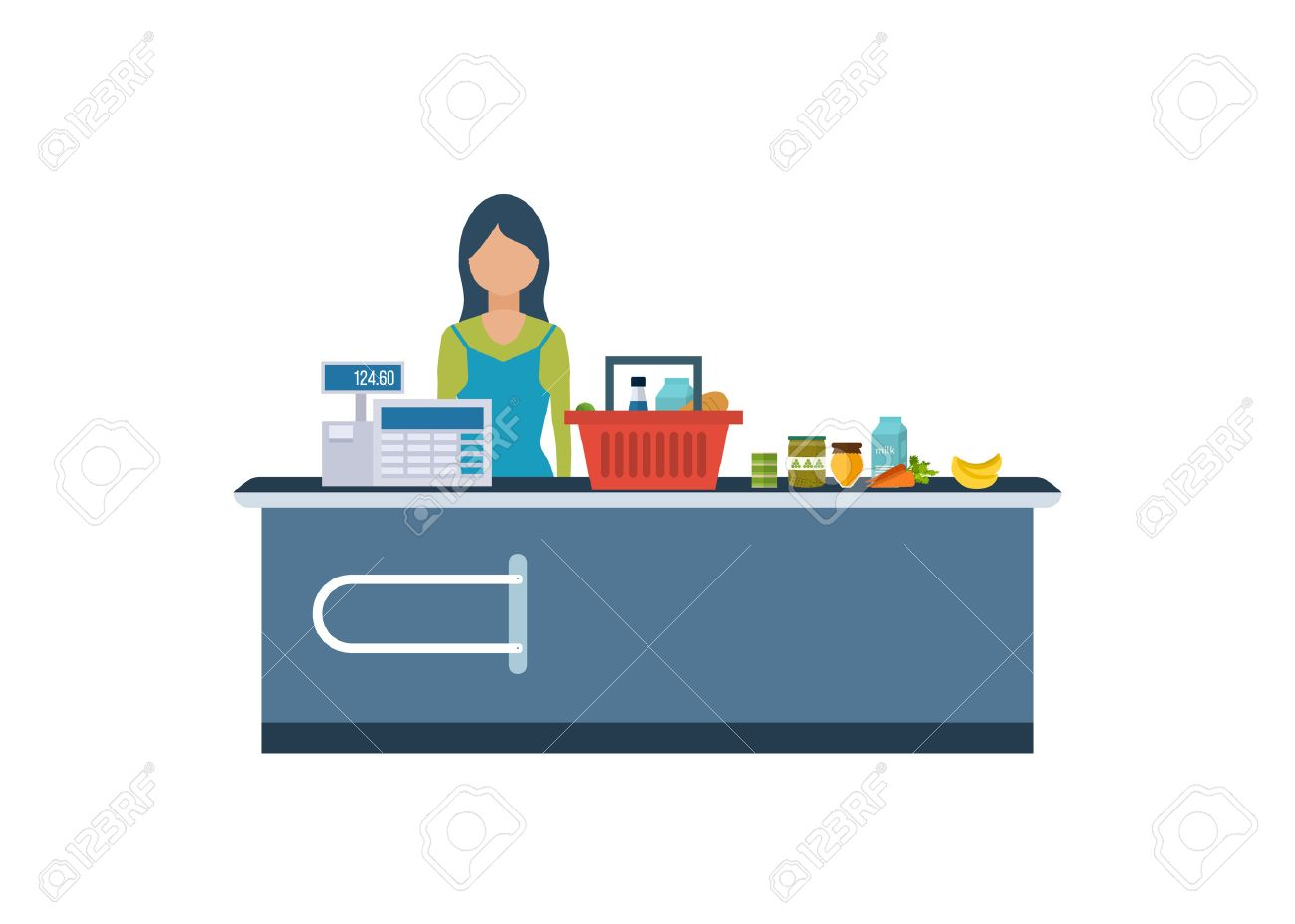 s clerk stock photos pictures royalty s clerk s clerk a young cashier w standing in supermarket s clerk working customers
