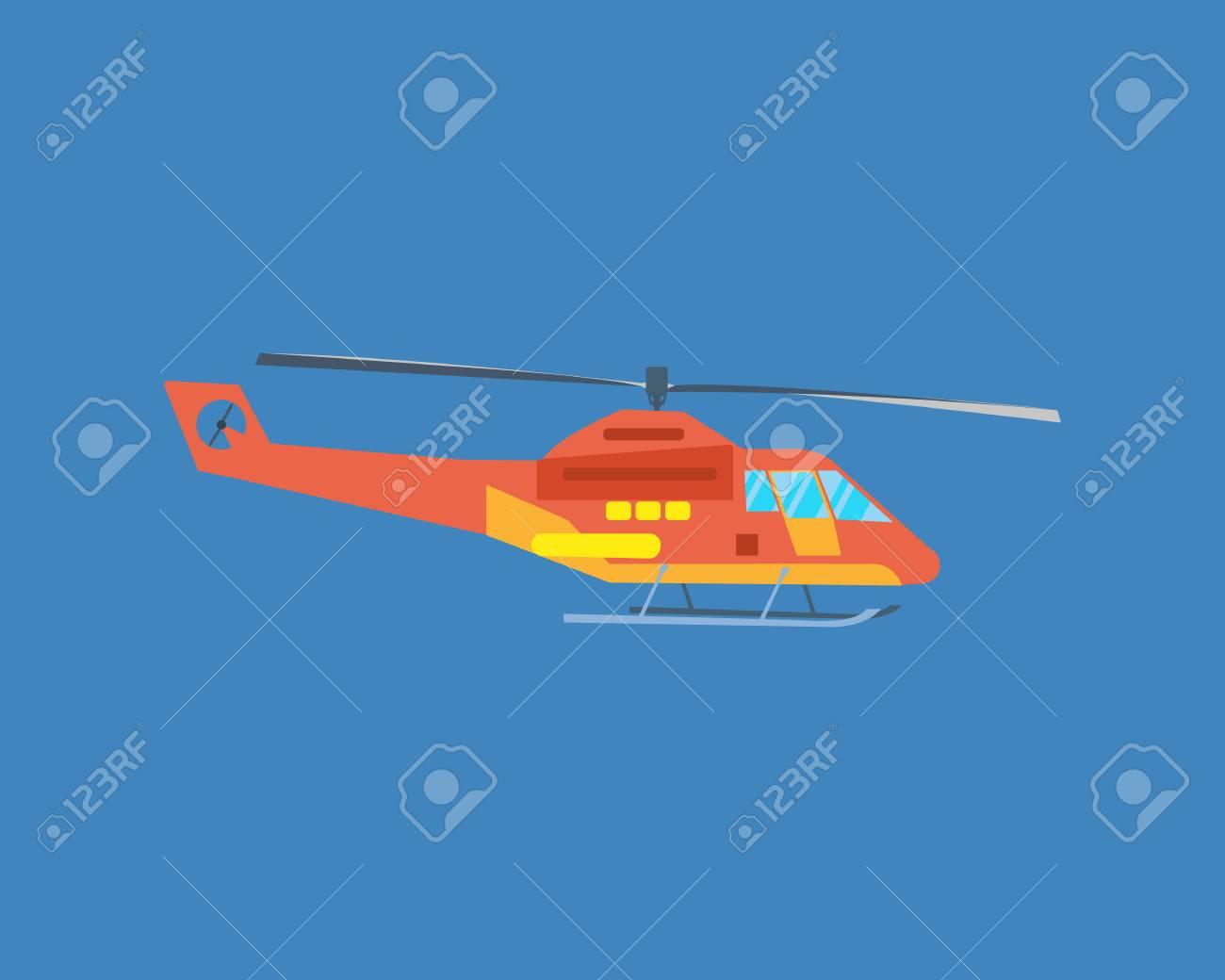Air vehicles  Modern helicopter for passenger transportation