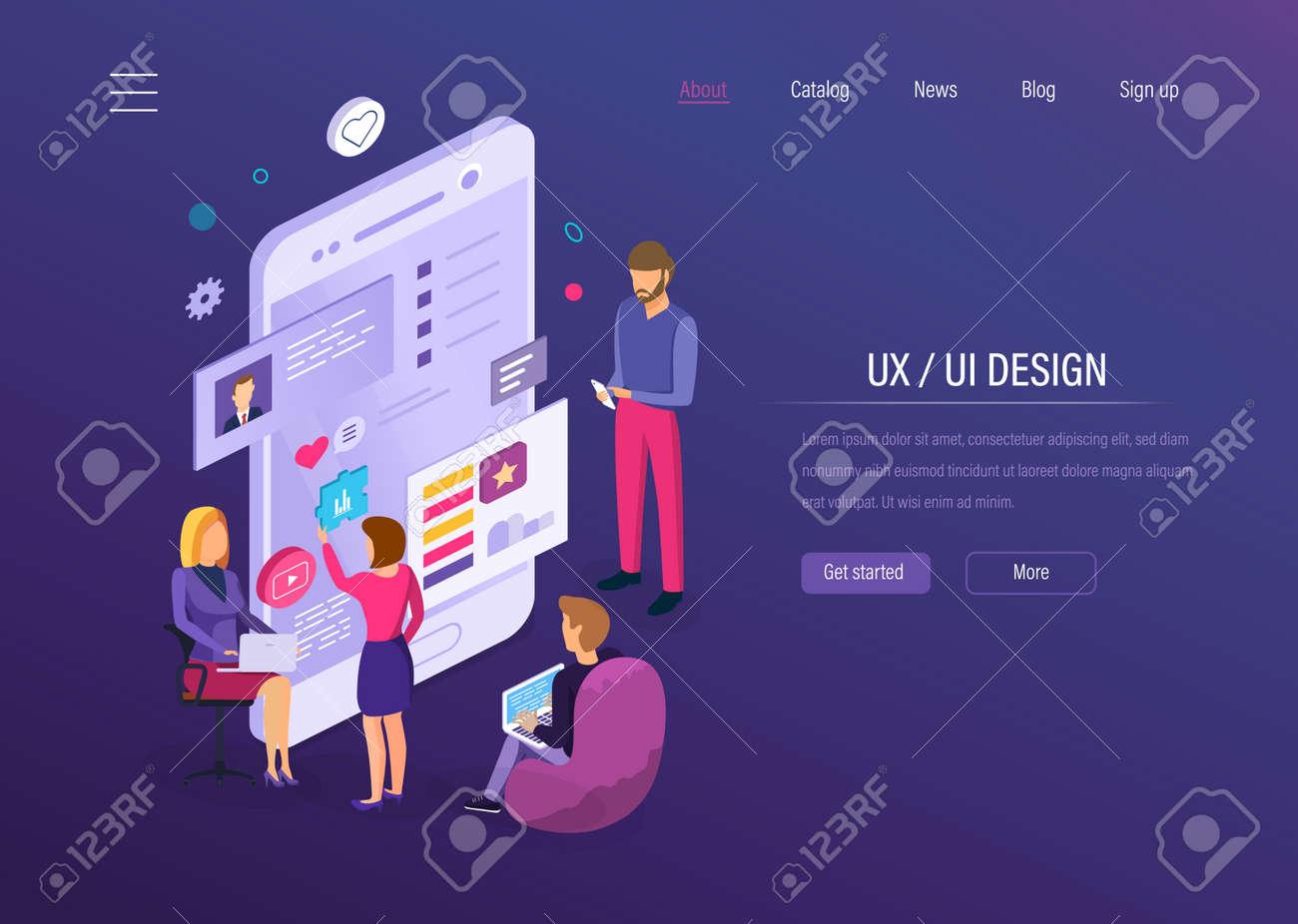 UX UI design  Interface development for user mobile app, desktop
