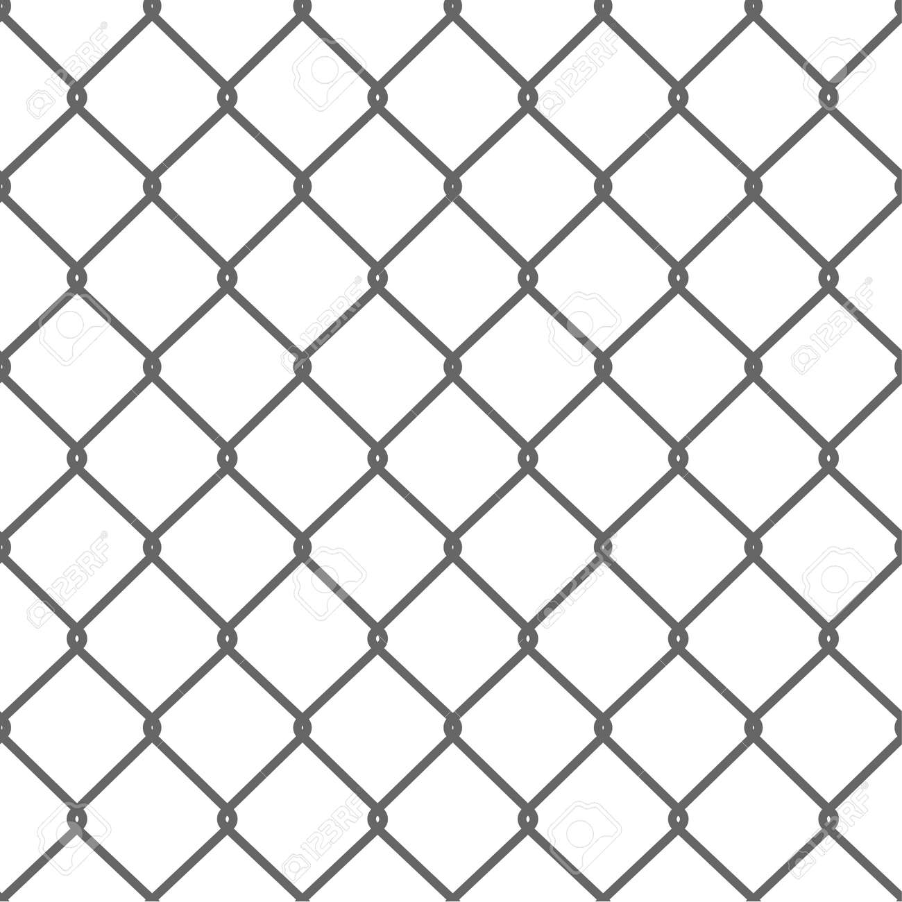 Seamless Wire Mesh. Net. Cage. Vector illustration - 40761557