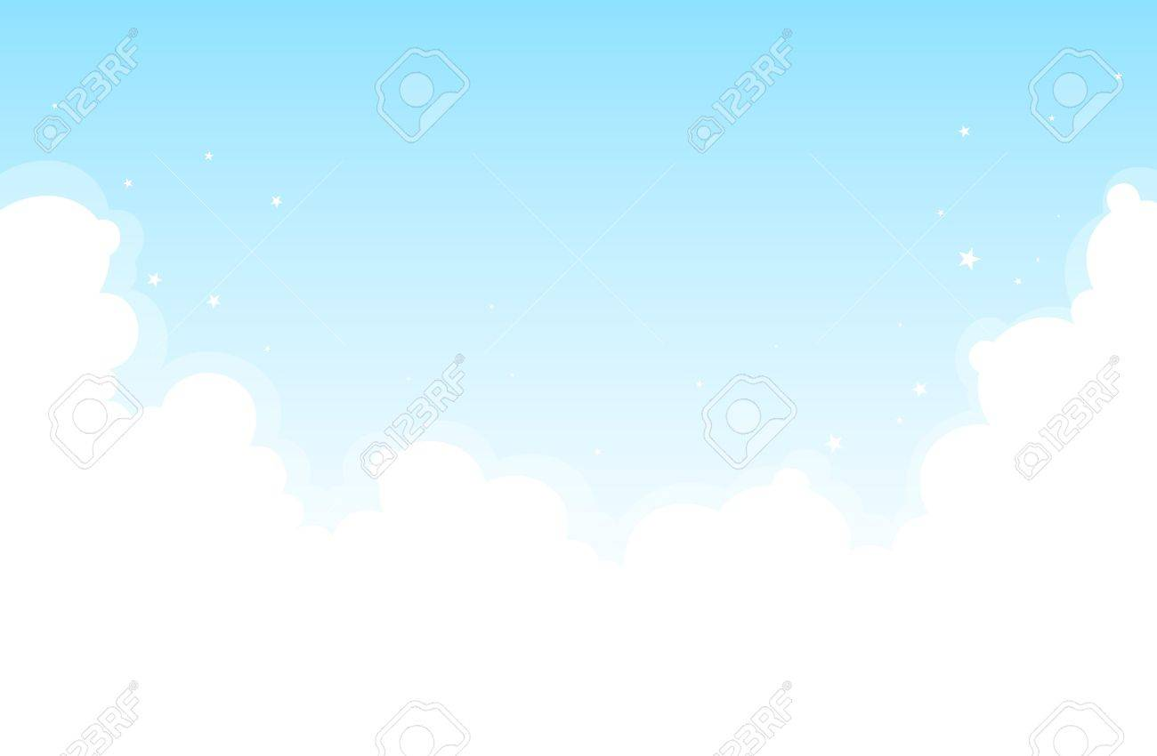 Background of bright cloud in the sky Stock Vector - 14716864