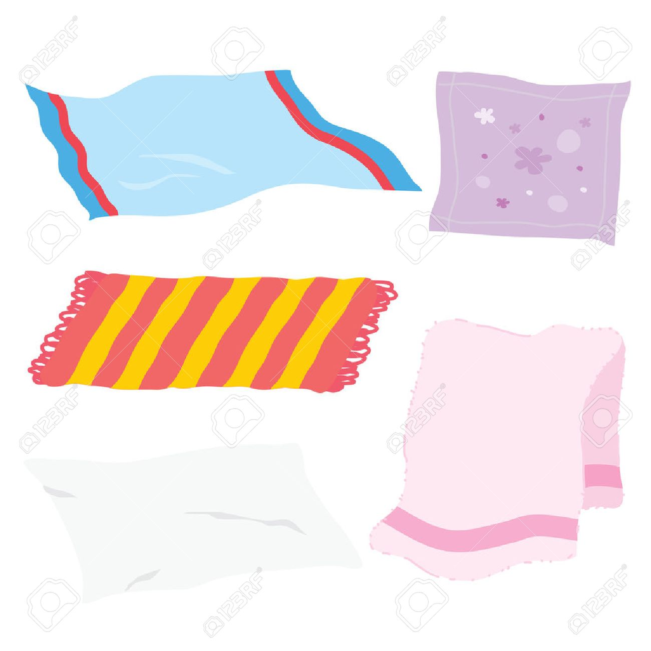 622b9af5f57c13 Carpet towel sheet napkin handkerchief rag fabric cloth cartoon vector stock  vector jpg 1300x1300 Cloth rag