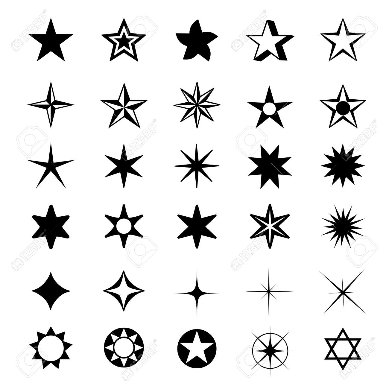 4d82ccc4286 Formas De Estrellas