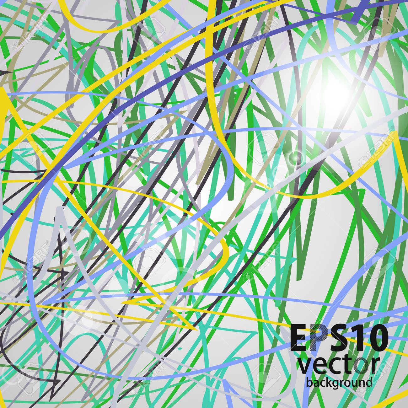 ribbon background Stock Vector - 17133794
