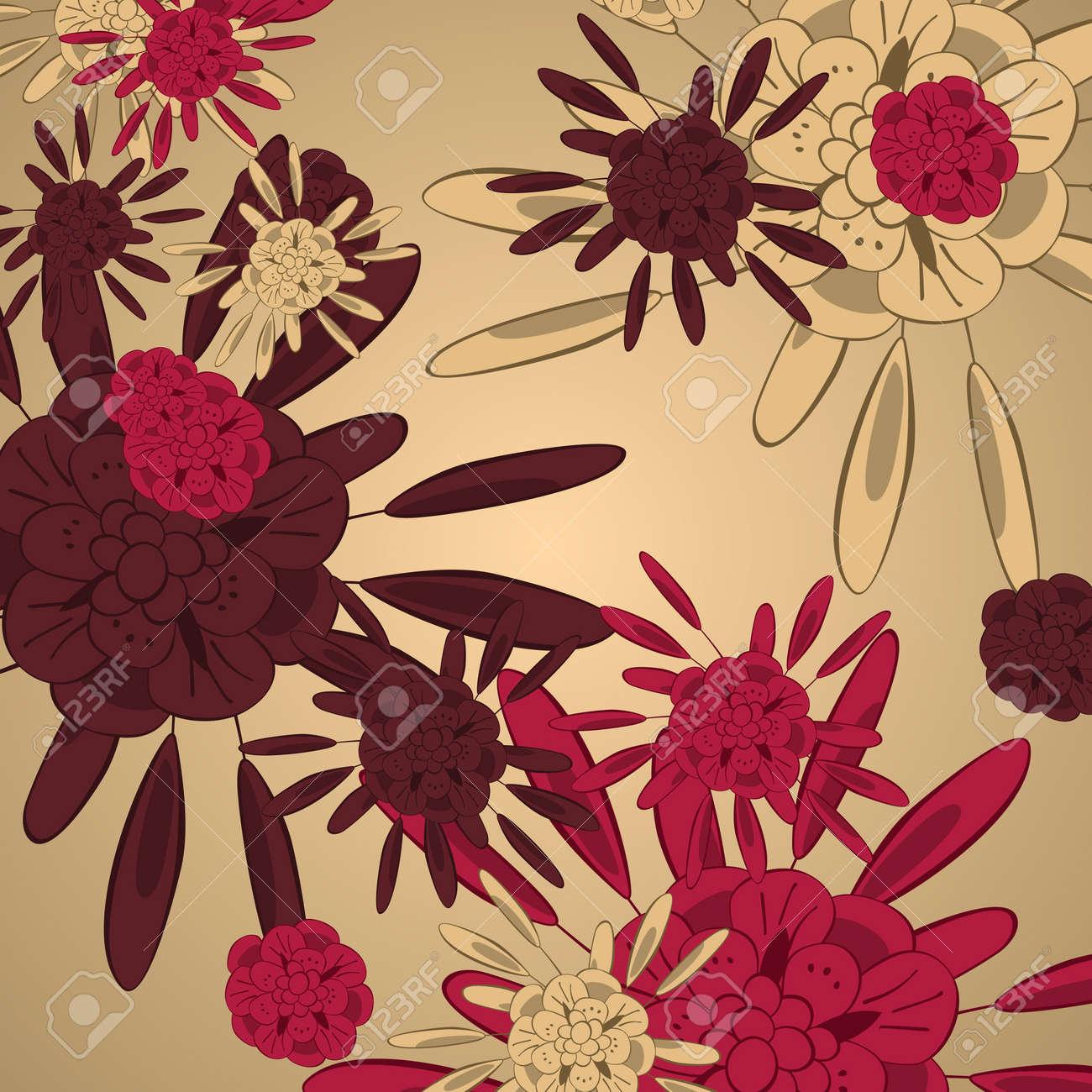 Flower background Stock Vector - 17133723