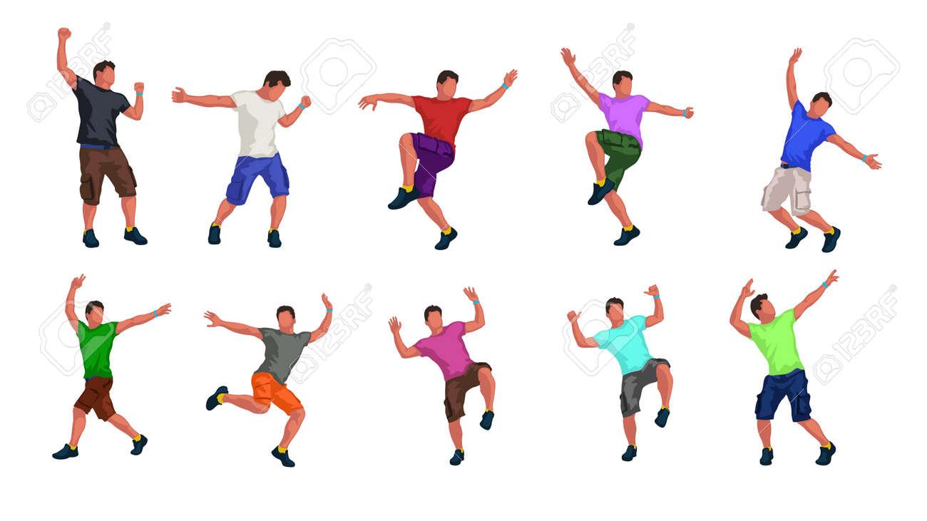 male dancer set - 86189422